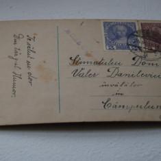 Bukowina circulatie Campulung - Carte Postala Bucovina 1904-1918, Circulata, Printata