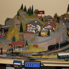 Trenulete electrice - Diorama