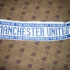 Fular suporter Fotbal -Club Manchester United Anglia, L= 135 cm - Fular fotbal