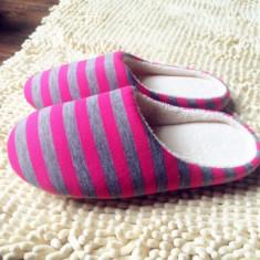 Papuci de casa. Cadoul ideal - Papuci dama, Culoare: Roz, Marime: 36.5, 38.5, 40.5