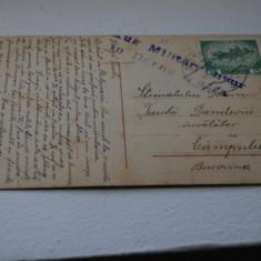 Bukowina circulatie Campulung, cenzura Dorna - Carte Postala Bucovina 1904-1918, Circulata, Printata