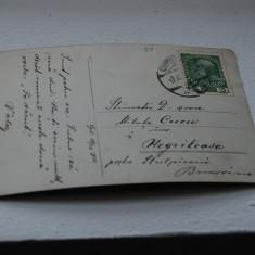 Bukowina circulatie Negrileasa, cenzura - Carte Postala Bucovina 1904-1918, Circulata, Printata