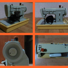 Masina cusut electrica Merritt - Singer, pedala, accesorii croitorie