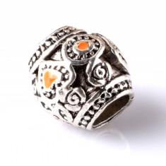Margele - Charm Lampwork - bratara - accesorii bijuterii - model Love - DIY