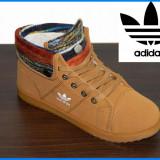 Bocanci / Ghete dama imblanite tip Adidas - Model nou - Brown - Pret special - - Bocanci dama, Culoare: Maro, Rosu, Marime: 37, 38, 40