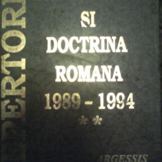 Repertoriu de jurisprudenta si doctrina romana 1989-1994, vol.2 - Carte Jurisprudenta