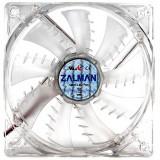 Ventilator Zalman Shark Fin 92 mm LED Albastru - Cooler PC