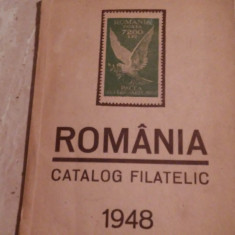 Romania Catalog filatelic ,1948,
