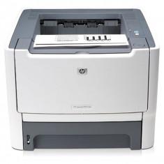 HP LaserJet P2015DN, 1200 x 1200 dpi, 27 ppm, USB 2.0, Duplex, Retea, Cartus nou compatibil 3k - Imprimanta laser alb negru