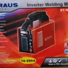Aparat Straus Austria 10-200 A de sudura cu invertor - Invertor sudura