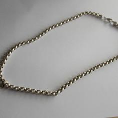 Lant de argint masiv cu pandant -731 - Lantisor argint