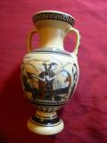 Copie dupa Vas antic grecesc din Muzeu Luvru ,pictat manual ,autor Vassilopoulos