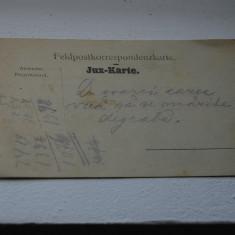 Bukowina carte militara - Carte Postala Bucovina 1904-1918, Circulata, Printata
