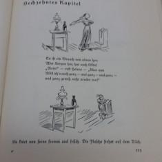 WILHWM BUSCH *CARTE CARTCATURI LIMBA GERMANĂ