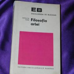 Filosofia artei - Hippolyte Taine (f0133 - Carte Istoria artei