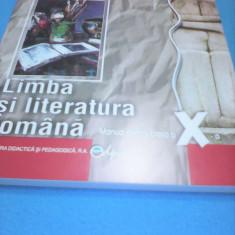 LIMBA SI LITERATURA ROMANA MANUAL CLASA X NICOLAE CONSTANTINESCU 2015 - Manual scolar Altele, Clasa 10