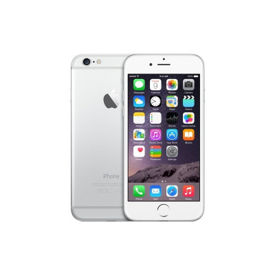 Apple Smartphone iPhone 6 64GB, CPU A8 Dual-Core 1.4GHz, 1GB RAM, IPS 4.7 inch (750x1334), iOS 8, Touch ID (Silver) MG4H2PK/A foto