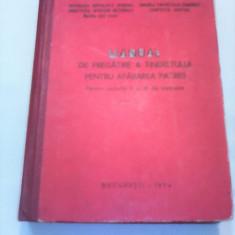 MANUAL DE PREGATIREA ATINERETULUI PENTRU APARAREA PATRIEI CICLURILE II-III 1974