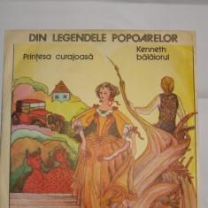 Disc vinil - Printesa curajoasa / Kenneth balaiorul - Muzica pentru copii
