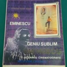 GENIU SUBLIM *EMINESCU /SCENARIU CINEMATOGRAFIC/CRISTIAN PETRU BĂLAN/1996