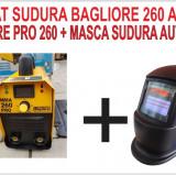 APARAT Sudura BAGLIORE 260 PRO - Cutie ALUMINIU + Masca Automata