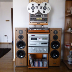 Linie audio cu mag teac