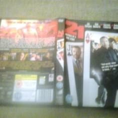 21 (2008) - DVD - Film thriller, Engleza