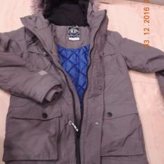Geaca baieti marca NEXT 12 ani 152 cm groasa pentru iarna, Marime: Alta, Culoare: Gri
