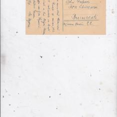Autograf Martian Negrea (compozitor catre ion Chirescu