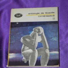 Antologie de filosofie romaneasca vol 4 Xenopol, Parvan, M Djuvara (f0119