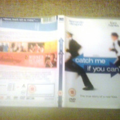 Catch me if you can (2002) - DVD - Film drama, Engleza