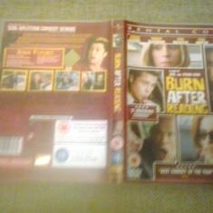 Burn After Reading (2008) - Rental Copy  - DVD, Engleza