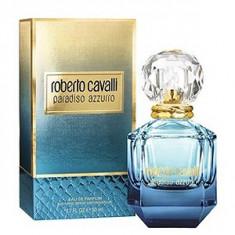 Roberto Cavalli Paradiso Azzuro EDP 75 ml pentru femei - Parfum femeie Roberto Cavalli, Apa de parfum, Lemnos