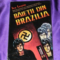 Ira Levin - Baietii din Brazilia (f0103 - Carte politiste