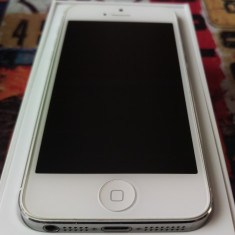 iPhone 5 Apple 16gb White, Alb, Orange
