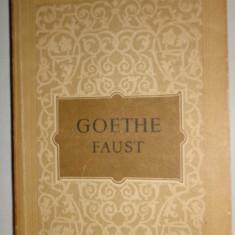 Faust (traducere - Lucian Blaga )/an 1955/543pag- Goethe - Carte Teatru