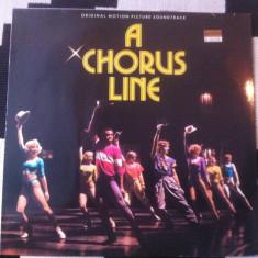 A chorus line original motion picture soundtrack various muzica pop jazz vinyl - Muzica soundtrack, VINIL