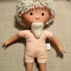 Mos Ene, Sandmännchen, Sandman, pitic, elf, papusa veche, vintage, colectie - Papusa de colectie