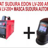 PROMOTIE.  Aparat de sudura, invertor Edon LV-200 Amperi + MASCA SUDURA