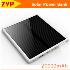 Solar Power Bank - Baterie externa, 20000 mAh