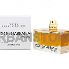 Parfum Tester Dolce Gabbana The One +LIVRARE GRATUITA ! - Parfum femeie Dolce & Gabbana, Apa de parfum, 75 ml, Oriental
