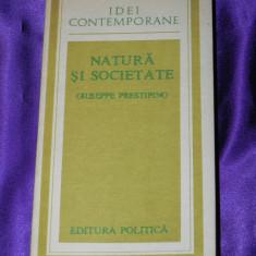 Natura si societate - Giuseppe Prestipino (f0117 - Filosofie