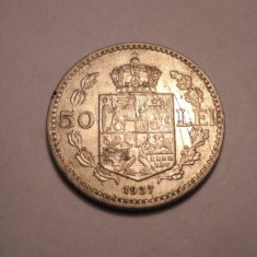 50 lei 1937 - Moneda Romania