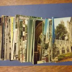 Lot 185 carti postale straine / C1DP, Circulata, Printata