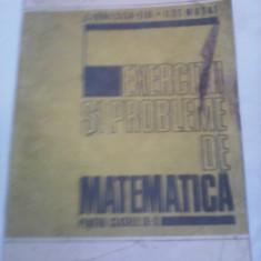 CULEGERE EXERCITII SI PROBLEME DE MATEMATICA PENTRU CLASELE IX-X C.IONESCU 1978 - Culegere Matematica