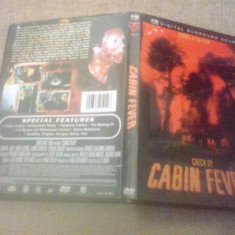 Cabin Fever (2002) - DVD - Film thriller, Engleza