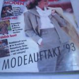 REVISTA MODA BURDA MODEN NR.1/ IANUARIE 1993 CU TIPARE GERMANA