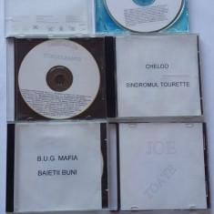 MUZICA HIP-HOP, LOT 5 CD-URI, CHELOO, BUG MAFIA, OMBLADON, ETC