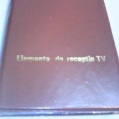 DIAPOZITIVE ELEMENTE DE RECEPTIE TV 6 FILE 36 BUCATI ANIMAFILM 1990 RARITATE!!!!