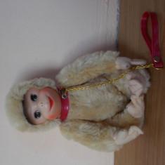 Jucarie de plus, anii 1970, maimuta cu lesa. - Jucarii plus